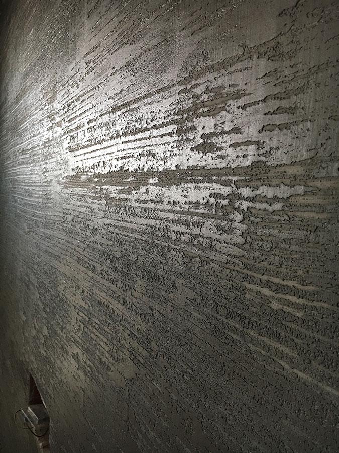 Dettagli - Finitura per interni Pietra Zen   Tinteggiature Gritti Mattia